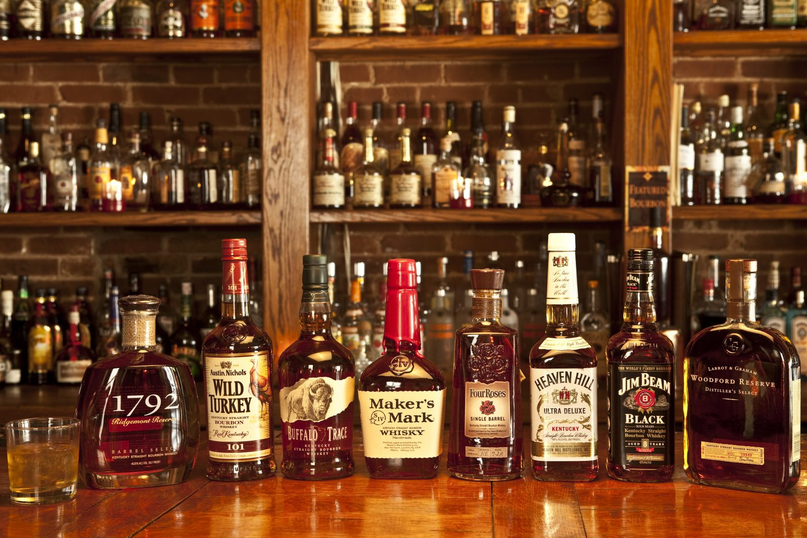 Best selection of bourbon in Gainesville FL