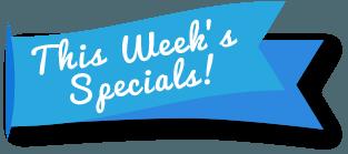 Weekly Specials Gainesville FL